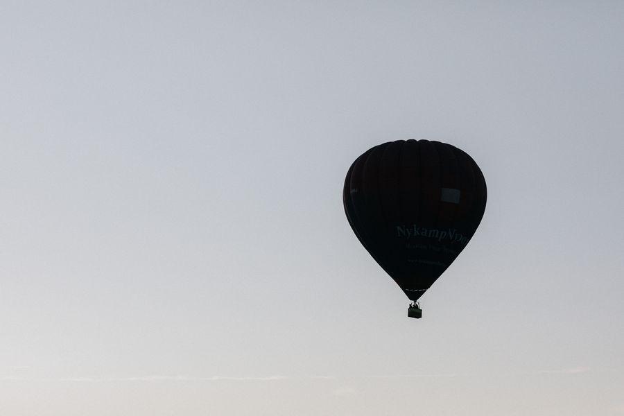 French Chateau Wedding - Hot Air Balloon