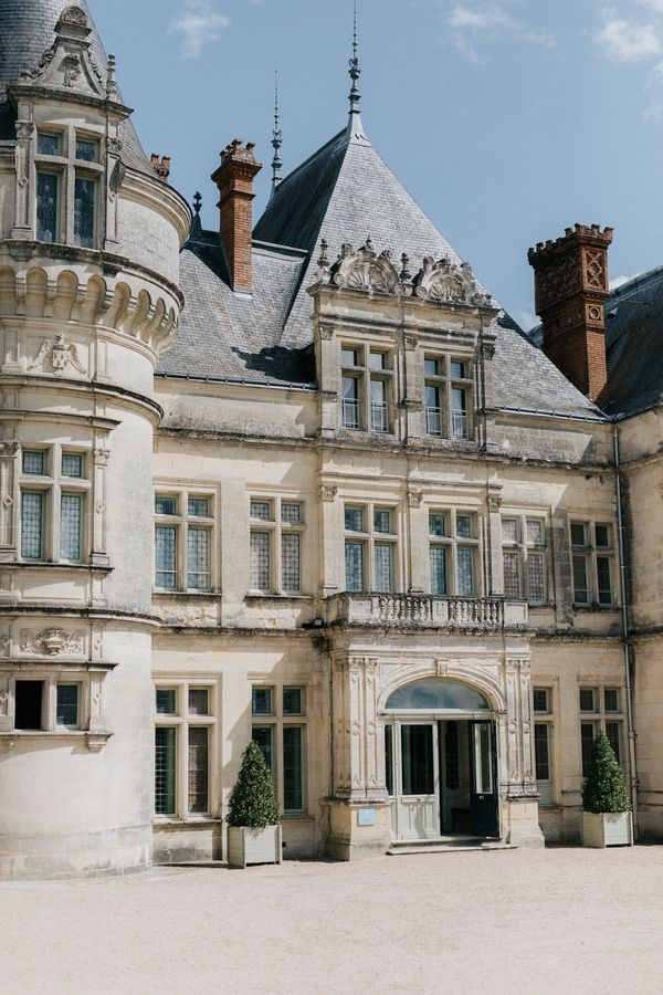 French Chateau Wedding near Paris