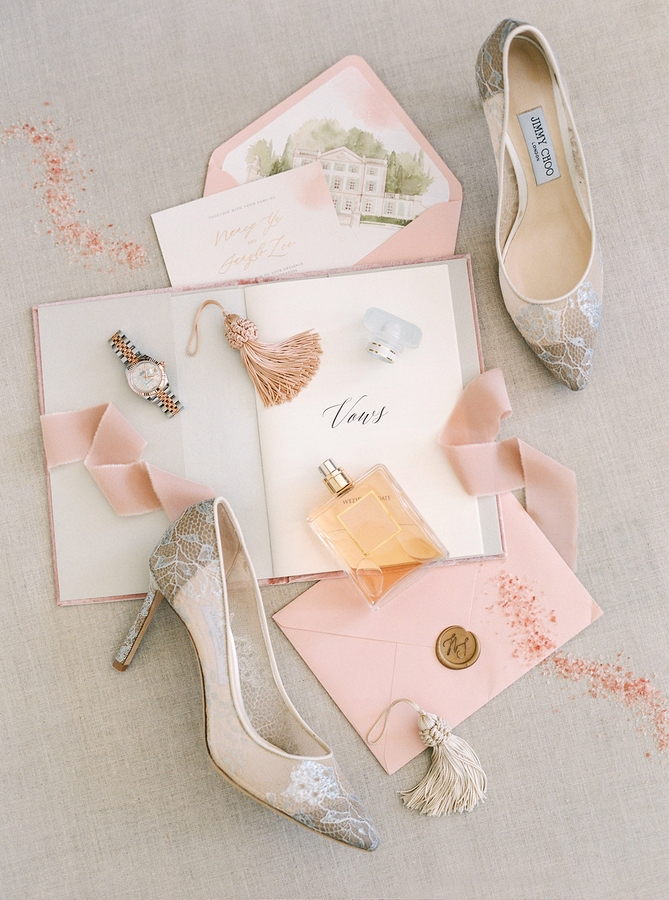 Shoes Romantic Wedding in Provence