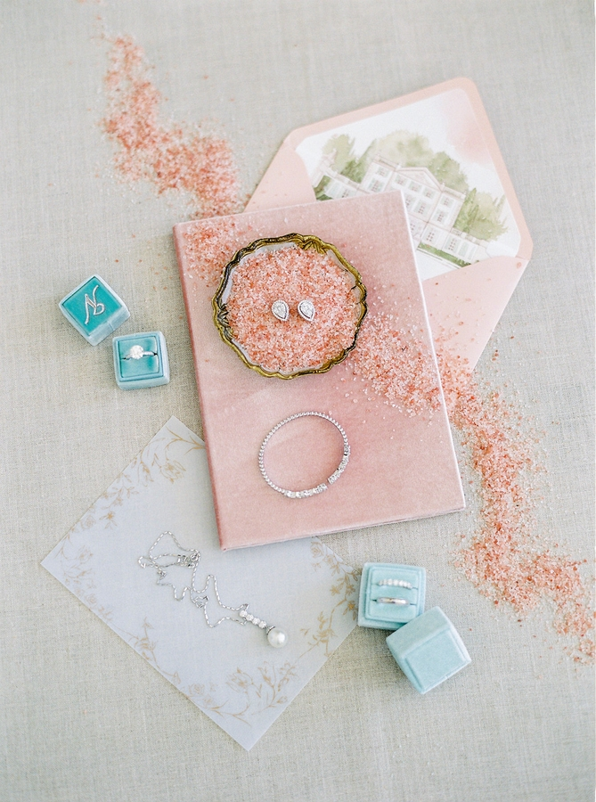 Beautiful Stationery Romantic Wedding in Provence