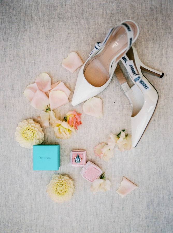 Ring and Shoes Seaview Chateau Wedding