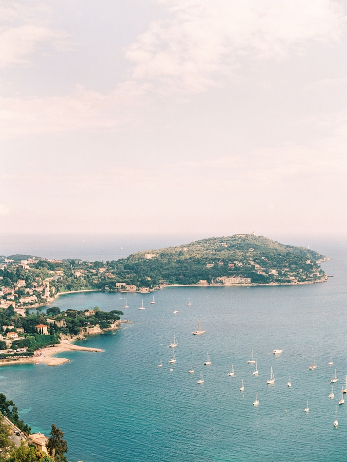 view wedding saint jean cap ferrat