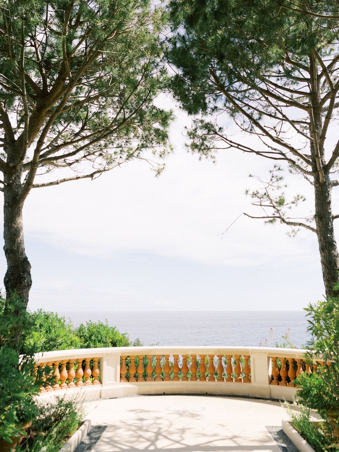 sea view wedding saint jean cap ferrat